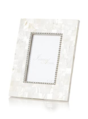 Isabella Adams Picture Frame with Swarovski Crystals (Pearl)