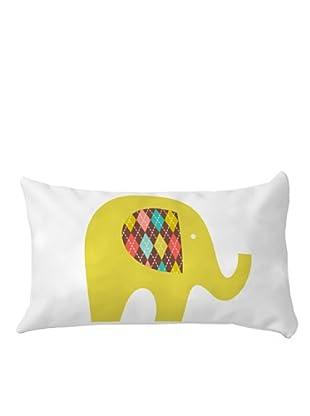 Little W Cojín Sweet Elephants (Multicolor)