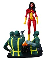 Diamond Select Toys Marvel Select Spider Woman Action Figure, Multi Color