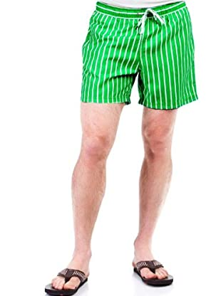 Cortefiel Bañador Rayas (Verde)