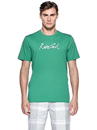 Rip Curl T-Shirt Right Hand S/S Tee (Verde)