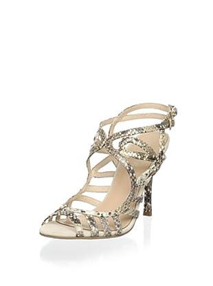 Menbur Women Strappy Evening Sandal (Gold)