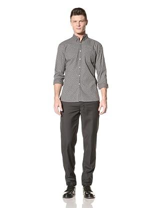 Fremont Men's ACE Pocket Woven Shirt (Flower Print)