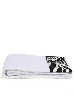 Telerie Italiane Zebra Telo Bagno Spugna (Bianco)