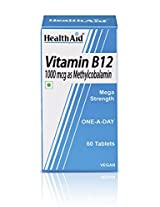HealthAid Mega Strength Vitamin B12 1000mg - 60 Tablets to 1000µg