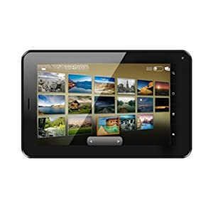Domo Slate X2G Bluetooth Tablet (WiFi, 3G via Dongle, Voice Calling), Black