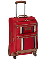 Tommy Hilfiger ABS Red Softsided Suitcase (TH/SCO04055)