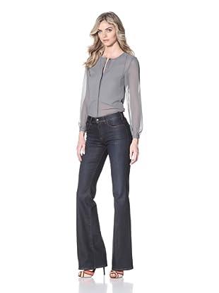 Notify Women's Iris Flare Leg Jean (Vintage Blue)
