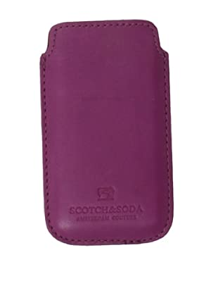 Scotch & Soda Men's Leather iPhone Sleeve (Red)