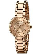 Anne Klein Women's AK/1870RGRG Rose Gold-Tone Bracelet Watch