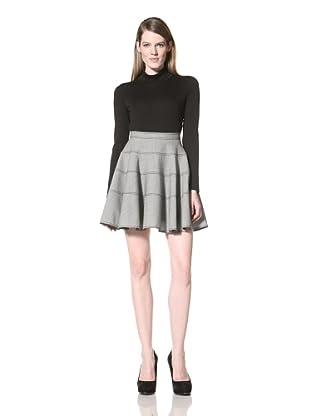 Z Spoke Zac Posen Women's Circle Skirt (Black/White)