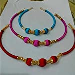 Red n pink n blue Fashion Necklace set of 3