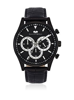 Rhodenwald & Söhne Reloj con movimiento cuarzo japonés 10010134 Negro 43  mm
