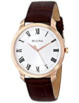 Bulova Classic Analog Silver Dial Men's Watch - 97A107