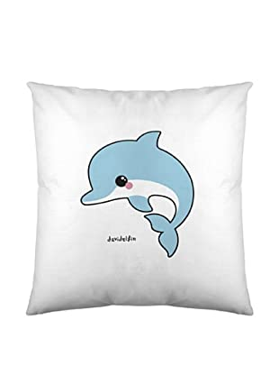 Davidelfin Funda De Cojín Cute Dolphin