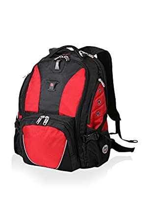Swissgear Nylon Backpack, Black/Red