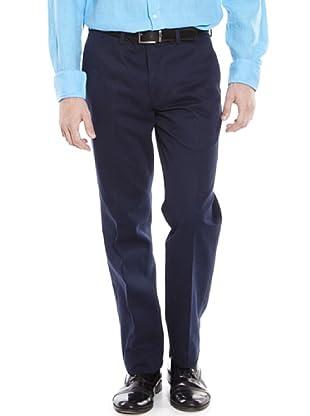 Hackett  Pantalón Clásico (Azul)