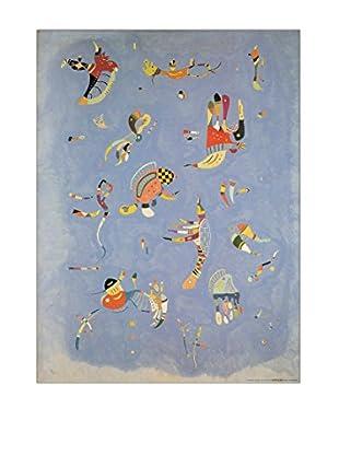 ArtopWeb Panel de Madera Kandinsky Cielo Blu 60x80 cm