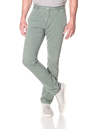 Earnest Sewn Men's Men's Tapered Chino Pant (Olive)