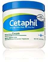 Cetaphil Fragrance Free Moisturizing Cream 16-Ounce Jars (Pack of 2)
