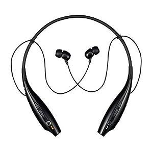 LG Tone Wireless Bluetooth Stereo Headset - Black/Orange