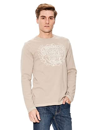 Paul Stragas Longsleeve Col Rond (Taupe)