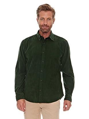 Cortefiel Camisa Pana (Verde Oscuro)