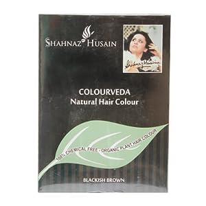 Sehnaz Husain Colourveda Natural Hair Colour Blackish Brown, 100g