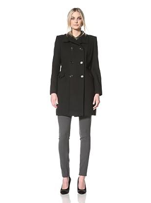 Nicole Miller Women's Architectural Coat (Black)