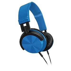 Philips DJ SHL3000/00 Over-Ear Headphone (Blue)