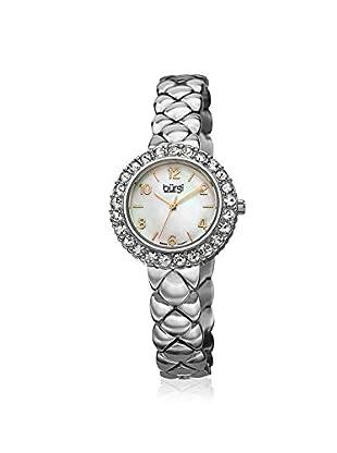 Burgi Women's BUR113SS Swarovski Crystal Silver-Tone/White Stainless Steel Watch
