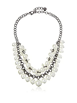 Fragments Double-Layer Bauble Pearl Necklace