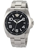 Police Analog Black Dial Men's Watch - PL-12157JS/02MC