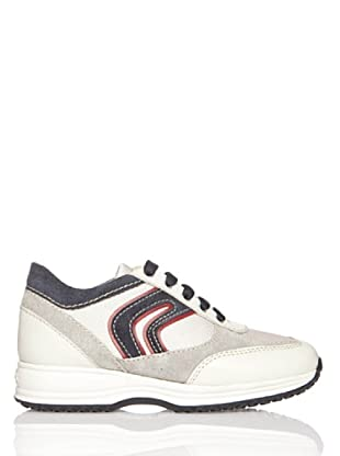 Geox Zapatillas Happy (Blanco / Rojo)