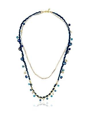 Mélancolie Collar Alizee Negro / Azul