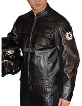 UD Replicas Star Wars Empire Emblem Racing Jacket, Black, Large