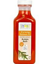 Aura Cacia Warming Balsam Fir Aromatherapy Bubble Bath 13 fl oz bottle