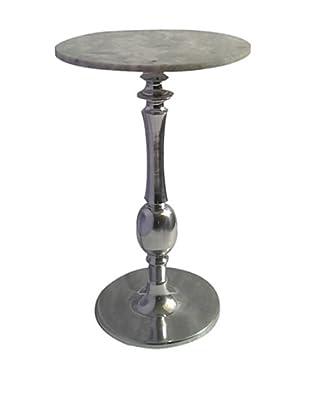 Zanzi White Marble Top Cocktail Table