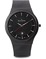 Skagen Aktiv Analog Watch - For Men Black - 234XXLTB