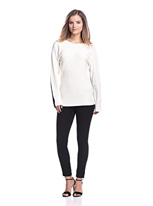 Calvin Klein Women's Colorblock Sweater (Birch)