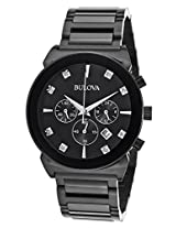 Bulova Analog Black Dial Men's Watch - 98D123-000