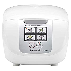 """Panasonic One Touch """"Fuzzy Logic"""" Rice Cooker"""