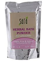 Sara Herbal Bath Powder, 100 gm