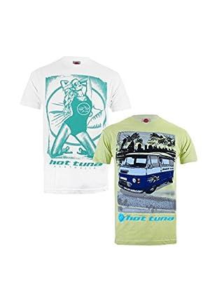 Hot Tuna Pack x 2 Camisetas Manga Corta
