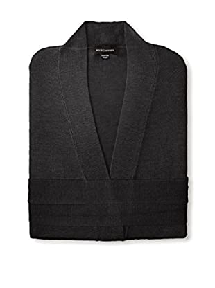 a & R Cashmere Wool & Cashmere Robe, Black, One Size