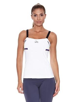 Naffta Camiseta Tirantes Blali (Blanco / Lila)
