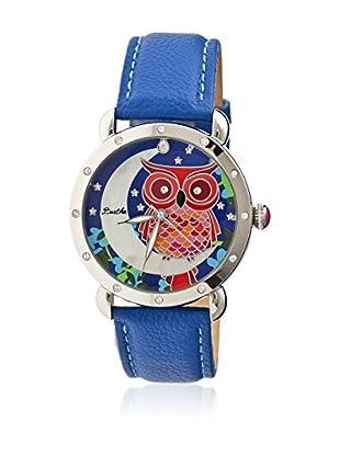 Bertha Uhr mit Japanischem Quarzuhrwerk Ashley blau 41 mm