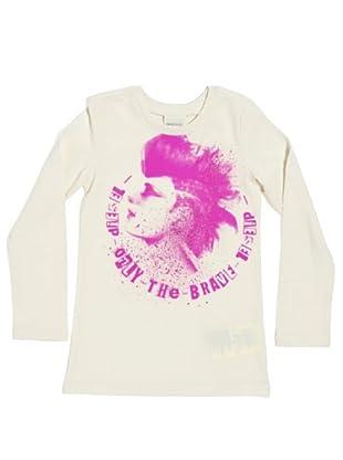Diesel Kid T-Shirt Tinitek (Elfenbein)