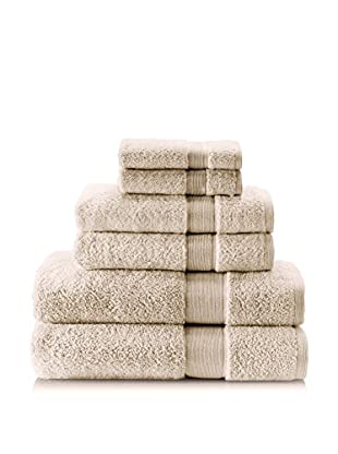 Espalma 6-Piece Signature Bath Towel Set (Flax)