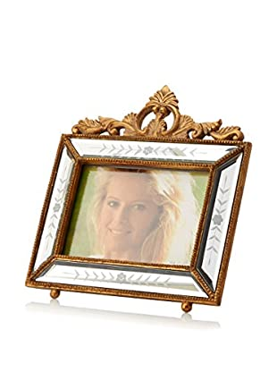 Bethel International Handmade Mirrored Photo Frame (Gold)
